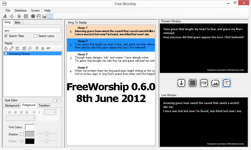 FreeWorship 0.6.0