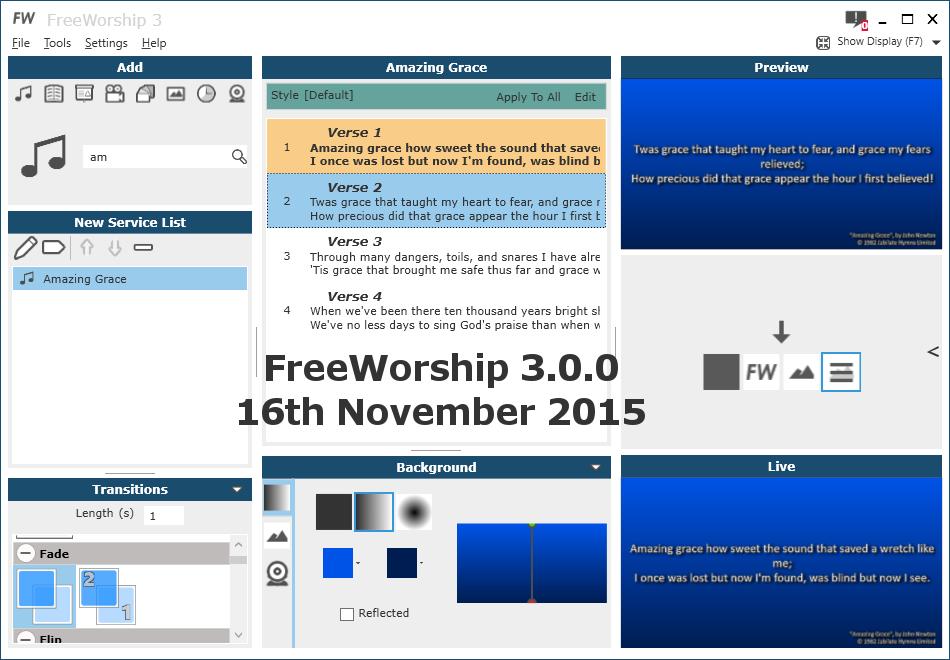 FreeWorship 3.0.0